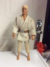 "Star Wars Luke Skywalker 12"" action Figure 1992 Hasbro No Boots toy"