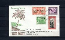 Niue. 1946. GVI. FDC for Peace/Victory stamps.