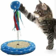 Cat Punch Ball Toy play Kitten  Scratching Base Interactive Plush Ball pet New