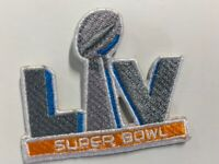 "SUPER BOWL 55 LV CAP STYLE PATCH NFL SUPERBOWL 2.5"" EMBROIDERED"