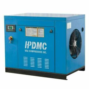 7.5 HP 3 Ph Rotary Screw Air Compressor 415 Volt 8-10 bar for Spraying Sanding