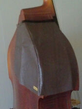 Bass Bib in Soft and Supple Leather by BassClefBibs  bass pad double bass