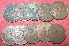 10 Centesimi tipo APE lotto assortito di 10 monete!!!anni 1920 e 1930- n. 856