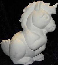 CERAMIC Bisque Ready to paint Softee Renfrew the Unicorn