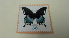 "Stamp, USA, .66, 2013, MOTH Butterfly, 1-1/4"" x 1-1/4"""