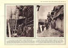 1915 British Observation Post West Flanders Territorials