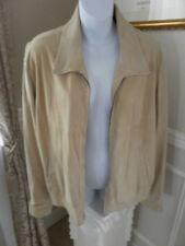 BALLY Couture Designer Goat Suede Leather Jacket VTG  NEW 42