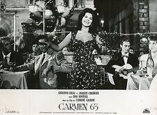GIOVANNA RALLI  CARMEN 63  1962 VINTAGE PHOTO ORIGINAL