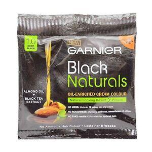 Garnier Black Naturals Oil Enriched Cream Colour <CREAM HAIR COLOUR> No Ammonia