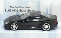 "MondoMotors Mercedes-Benz SL65 AMG ""Black"" - METAL Scala 1:43"
