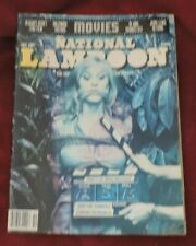 National Lampoon Oct. 1981 Printing Features: Movies (Women with Torn Blouses)