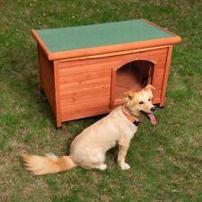 Hundehütte Hundehaus Hunde Hundehöhle Flachdach Haus Wetterfest Holz Outdoor Neu