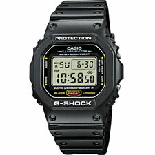 Casio G-Shock DW-5600E-1VER News Black Illuminator Light Rubber