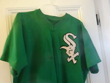 TERRY BEVINGTON CHICAGO WHITE SOX ST. PATRICK'S DAY GAME USED WORN JERSEY