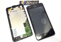 DISPLAY LCD+TOUCH SCREEN +COVER FRAME PER HUAWEI ASCEND Y635 VETRO NERO CORNICE