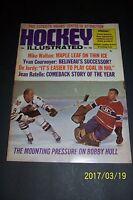1968 HOCKEY Magazine CHICAGO Blackhawks BOBBY HULL Boston ESPOSITO Detroit HOWE