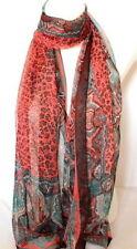 Écharpes et châles étoles en mousseline pour femme