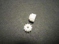 FLY SCALEXTRIC 11 TOOTH PLASTIC PINION GEAR 6.5MM 2-PACK NEW 1/32 SLOT CAR PART