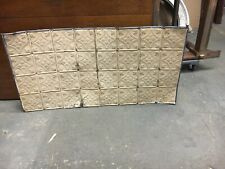 """Gorgeous antique Victorian tin ceiling pressed Floral pattern 24.75 x 48"""""""