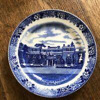 Vintage Hyde Park Roosevelt Home Plate Old English Staffordshire Ware England