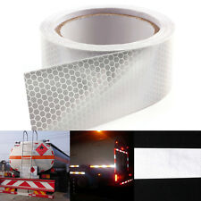 Cinta adhesiva reflectante 10m Color Blanco Safety Warning Conspicuity Tape
