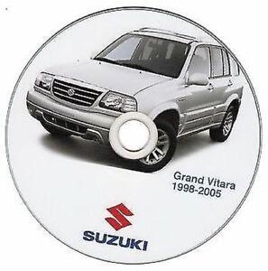 Suzuki Grand Vitara (' 98-2005) Manual de Taller - Workshop Manual