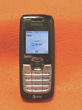AT&T, NOKIA 2610 / 2610B DUALBAND GSM CELL PHONE, BLACK, SCORCHING