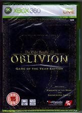 Elder Scrolls IV Oblivion Game of The Year Goy Edition Xbox 360 MS Xbox360