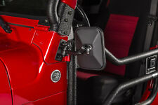 Miroir rectangulaire court noir Jeep Wrangler TJ, JK 97-18 Rugged Ridge 11025.20