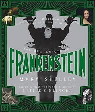 The New Annotated Frankenstein by Mary Shelley (Hardback, 2017)