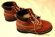 Ramrods Brown Leather Boots Men's Size 9