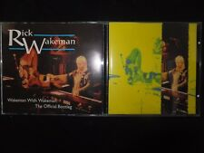 2 CD RICK WAKEMAN / WAKEMAN WITH WAKEMAN / THE OFFICIAL BOOTLEG /