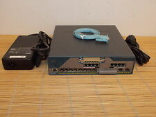 Cisco C1861E-SRST-F/K9 1861 8-user SRST or CME 4FXS 4FXO 8x POE Router