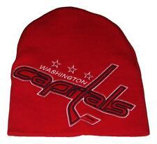 Washington Capitals Logo Hype NHL Beanie Hat Toque NWT