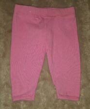 BABY GIRLS Sz 000 pink COTTON ON leggings CUTE! ELASTIC WAIST! OWLS!