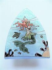 Mermaid Dancing Fused Art Glass Night Light Nautical Sea Ocean Ecuador Us Plug
