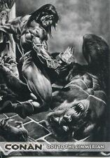 Conan Art Of The Hyborian Age Ode To The Cimmerian Chase Card C11