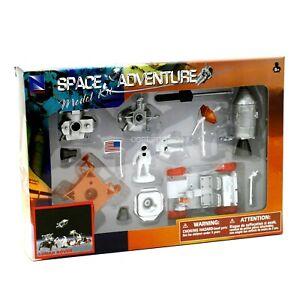 NASA Apollo Lunar Rover Model Kit New-Ray Space Adventure w/ Astronauts