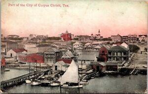 Postcard Part fo the City of Corpus Christi, Texas~4263