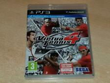 Virtua Tennis 4 PS3 Playstation 3 (Spanish Cover)