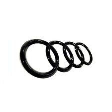 Gloss Black Rear Trunk Emblem Badge 192mm For Audi A3 A4 A5 A6 A7 TT Q3 Q5 Q7