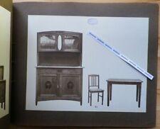Rare Catalogue ML Mobilier ALBUM PHOTOS ORIGINALES Bibliothèques Chambre Meubles
