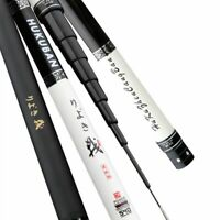 Carbon Fiber Hand Telescopic Fishing Rod Pole Super Light Hard Stream Rod Fish