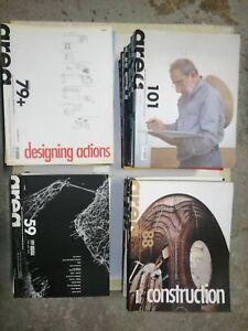 Rivista internazionale architettura design AREA 35 numeri + 10 supplementi