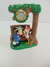 Disney Verichron Collectible Timepiece Mickey/Minnie Mouse Clock
