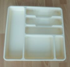 Cream Cutlery Draw Tray
