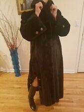 Mink BLACKGLAMA full length fur coat