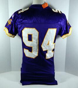 1999 Minnesota Vikings  #94 Game Issued Purple Jersey