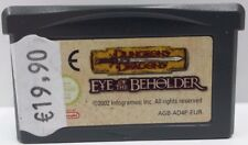 Dungeons & Dragons - Eye of The Beholder per Game Boy Advance - LOOSE - PAL