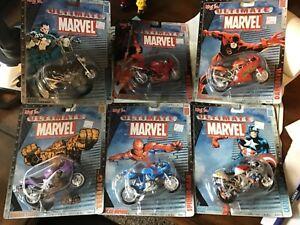6 Miasto Ultimate Marvel Motorcycle Collection Series 1 Ducati triumph SpiderMan